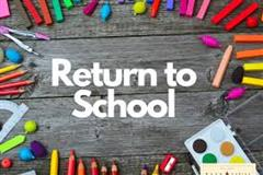 Schedule of Return to School 2020 and Letter from Ms Coyne